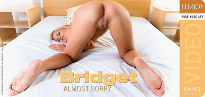 Video: Bridget – Almost Sorry
