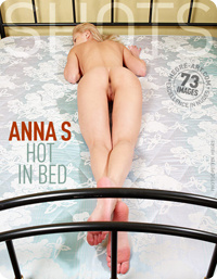 Anna S – Hot in bed