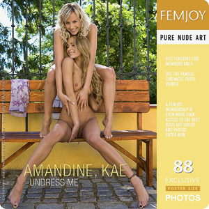 Amandine and Kae – Undress