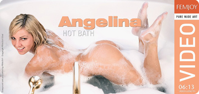Video: Angelina – Hot Bath