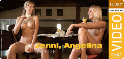 Video: Angelina and Jenni – Appetite