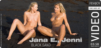 Video: Jana E and Jenni – Black Sand