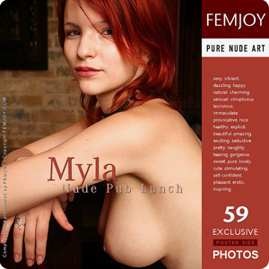 Myla - Nude Pub Lunch
