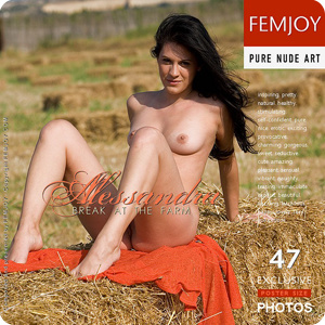 Alessandra – Break at the Farm
