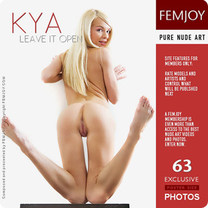 Kya – Leave It Open