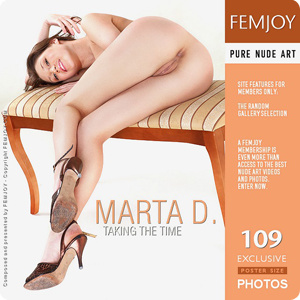 Marta D - Taking The Time