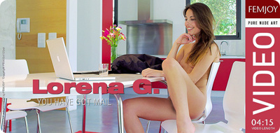Video: Lorena G – You Have Got Mail