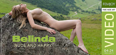 Video: Belinda – Nude And Happy