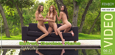 Video: Denisa, Eufrat, Fiona - Dancing