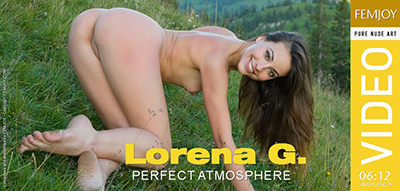 Video: Lorena G - Perfect Atmosphere