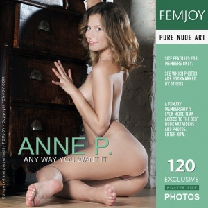 Anne P - Any Way You Want It