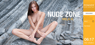 Video: Mila K – Nude Zone