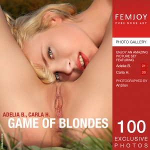 Carla H, Adelia B - Game Of Blondes