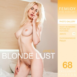 Jane G – Blonde Lust