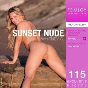 Whitney C – Sunset Nude