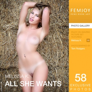 Melissa K - All She Wants