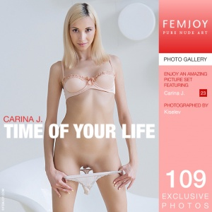 Carina J – Time Of Your Life