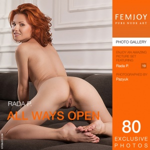 Rada P - All Ways Open