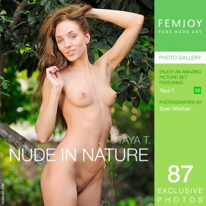 Taya T - Nude In Nature
