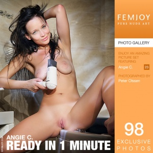 Angie C - Ready In 1 Minute
