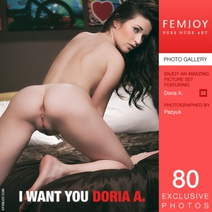 Doria A – I Want You
