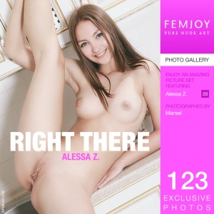 Alessa Z - Right There