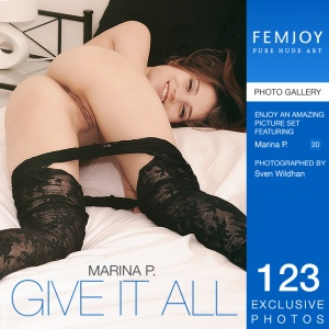 Marina P – Give It All