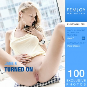 Jane F – Turned On