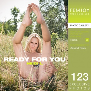 Heidi L – Ready For You