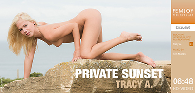 Video: Tracy A - Private Sunset